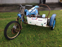 MOTOCROSS OUTFIT ROLLING CHASSIS CLASSIC deposit taken