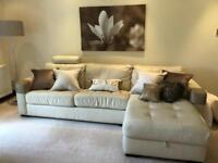 Italian Leather Couches Set