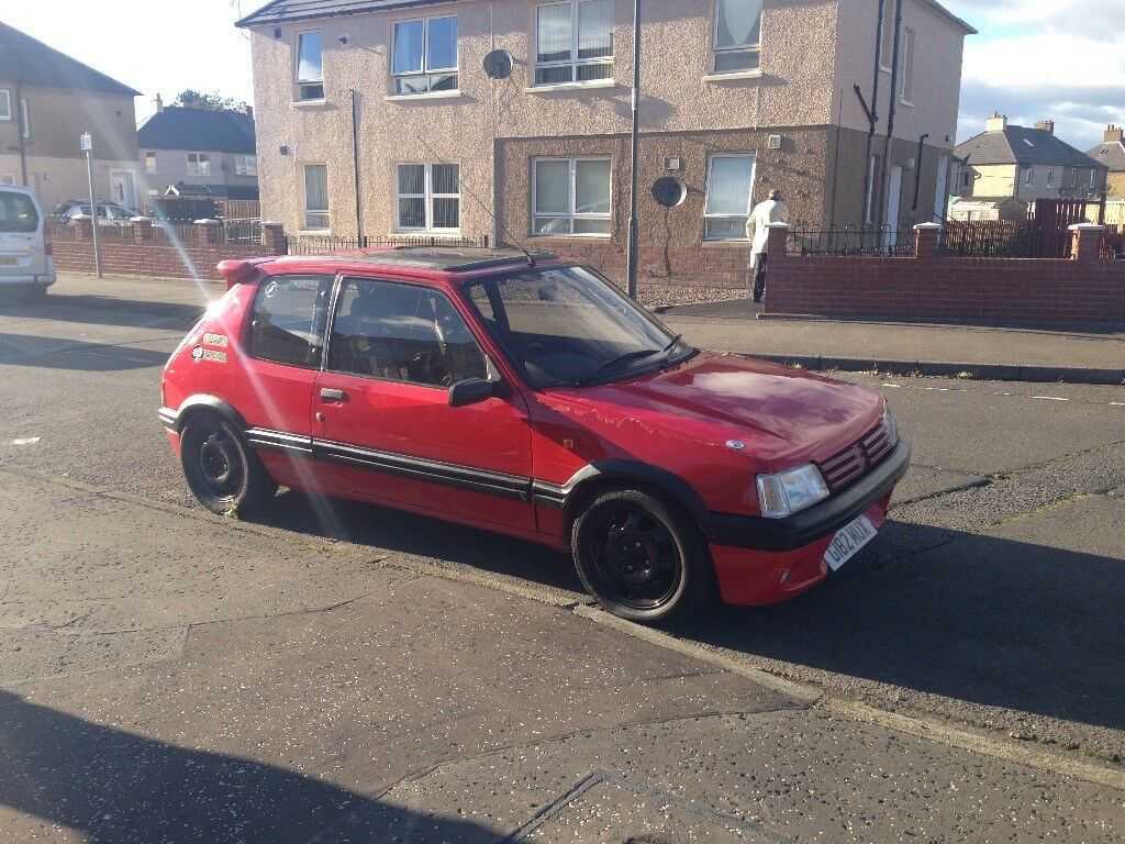 Peugeot 205gti make offer bike?