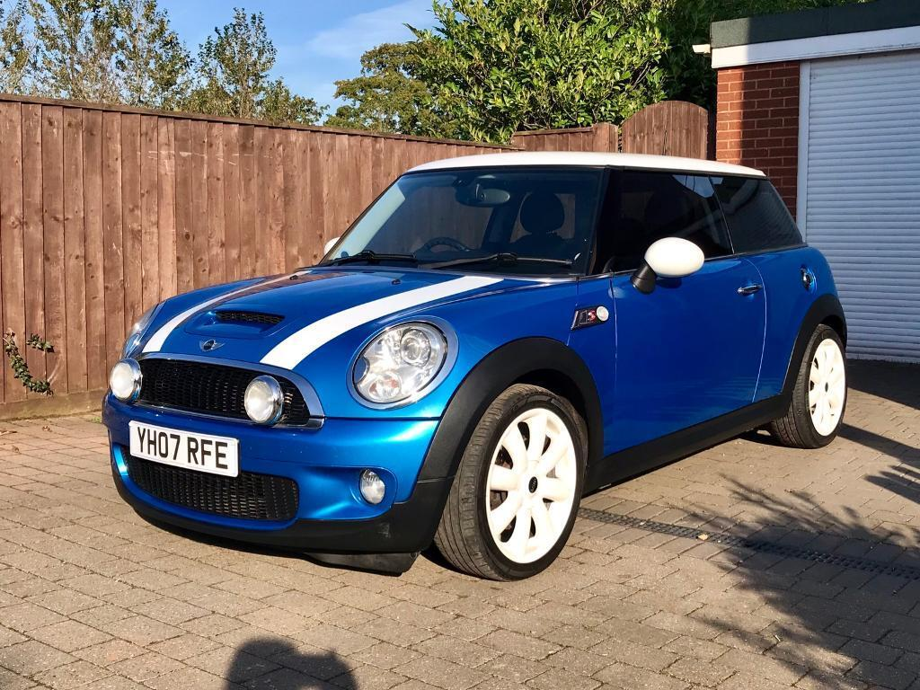 2007 Blue Mini Cooper S R56 16 Petrol Manual In Topsham Devon