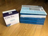 Kaplan Schweser CFA Level 2 2019 books and flash cards £85