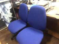 Office chairs in Blue Mint* Condition £35 each