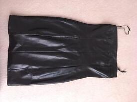 Leather Morgan dress