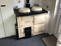 AGA cooker with gas conversion unit. Working when removed and in good original condition