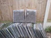 Grey roof tiles approx 160 of ( Danum Slate )
