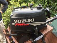 Suzuki 5hp 4 stroke outboard
