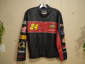 "Jeff Gordon, Leather Trackside Jacket by ""Wilson"""