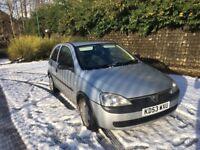 2003 Vauxhall Corsa - GOOD CONDITION - Hatchback 3dr, 77,000miles, 8month MOT