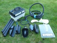 Earlex Complete Steam Cleaner Set : Multiple Accessories : WORKING