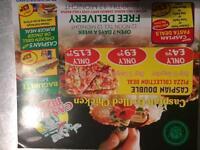 Caspian pizza Aston