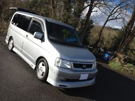 2003 HI SPEC HONDA STEPWAGON DAY MPV VAN/ONE UK OWNER/IDEAL SIZE PEOPLE MOVER& DAY VAN/MAZDA BONGO
