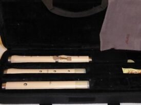 Aulos Baroque Flute in a Stanesby Jr style