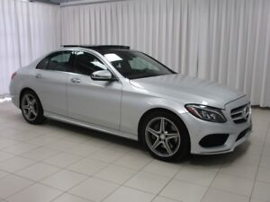2016 Mercedes-Benz C-Class IT'S A MUST SEE!!! C300 4MATIC AWD SE