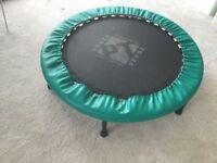 Mini fitness trampoline , Forza PT cross trainer