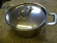 Jamie Oliver Stainless Steel Induction Stock Pot