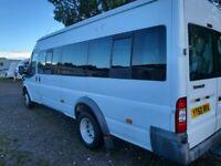 Ford Transit T430 17 seater LOW MILEAGE Minibus
