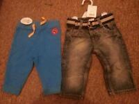 brand new baby boy trousers