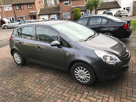 2012 / 62 plate VAUXHALL CORSA S AC ECOFLEX GREY £30 a year tax and full service history