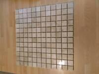 Genuine marble mosaic tiles