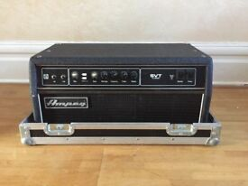 Ampeg SVT-CL Classic Bass Amp Head. Made In USA. With Flight Case.