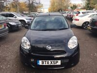 Nissan Micra 2011-very low mileage-long MOT-full service history-excellent car