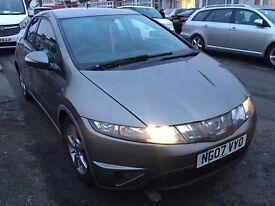 Cheap 2007 HONDA CIVIC 2.2 I-CTDI 5DOOR- £1500