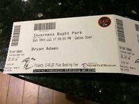 4 Bryan Adams tickets