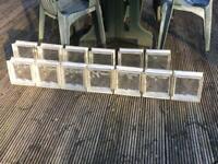Glass Blocks, great design element in the garden