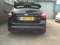 2013 FORD FOCUS ST2, SALVAGE/REPAIRABLE, LOW MILEAGE, CAT D, AIRBAGS OK, EASY FIX !