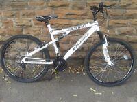 NEW Boss Astro Full Suspension Mountain Bike RRP £249