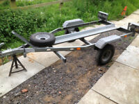 Single Motorbike Motorcycle Trailer - Factory Made