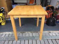 IKEA dining table 74x74 cm