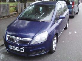 Vauxhall Zafira Year 2007 New Spahe 1.9 CDTI - Diesel. 7 Seater £799 Or swap