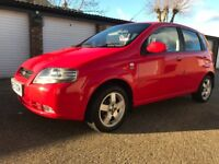 CHEVROLET KALOS SX 1.4 PETROL MANUAL 2007-REG 59k on the clock DRIVES VERY WELL CHEAP LITTLE MOTOR