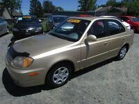 2003 Hyundai Accent GR ELEC AC