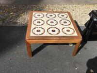 Retro solid wood coffee table
