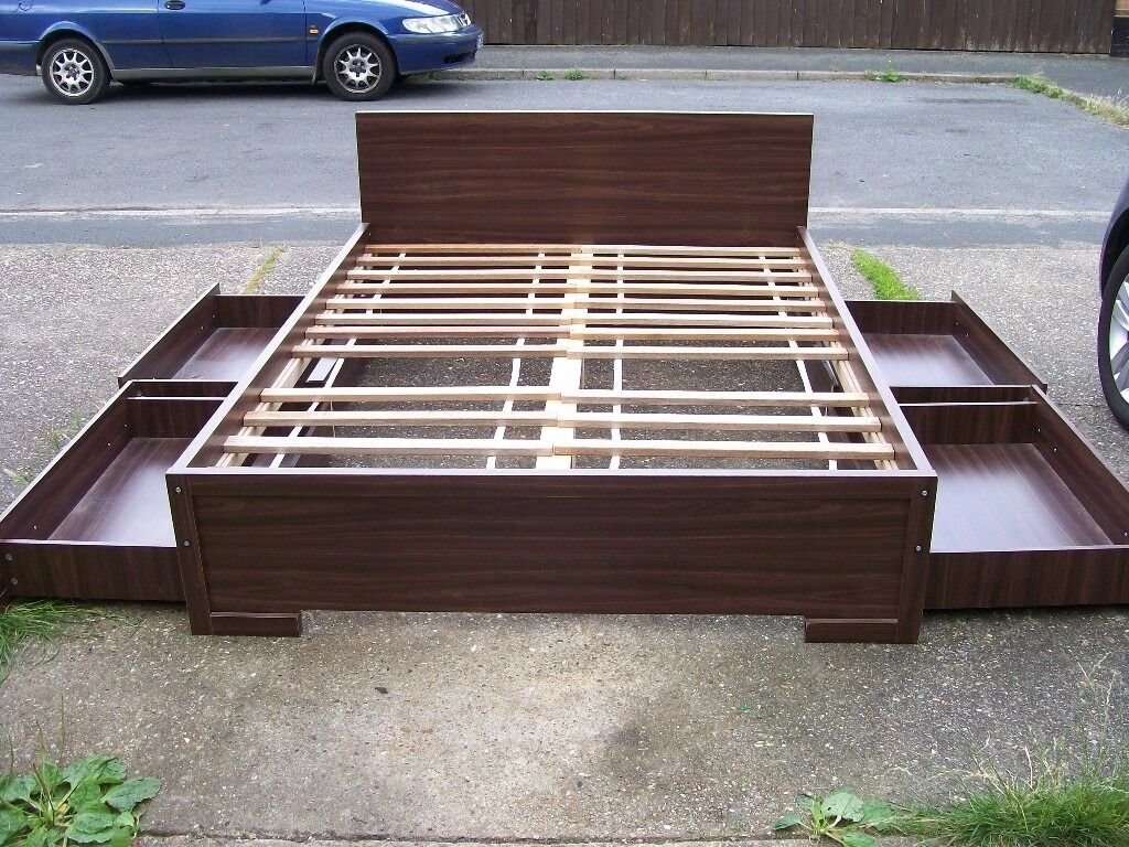 king size bed with storage drawers underneath king size bed frame wood 4 large under