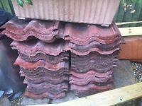 30 + double roman roof tiles