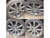 Audi A8 D3 20 inch alloy wheels vgc