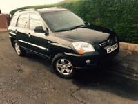 2010 METALLIC BACK SPORTAGE JEEP 2,0 DIESEL 4x4 Tow bar Immaculate Condition