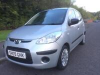 HYUNDAI I-10 1.2 5DR , 1 LADY OWNER , FULL SERVICE HISTORY , £30 ROAD TAX , MOTD APR 18 ,