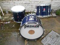 Vintage Premier Club drums