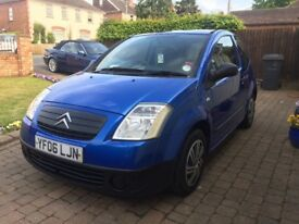 Citreon C2 1.1L, 12 Months MOT, Cheap tax & insurance, lovely clean car throughout