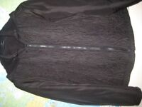 M&S REVERSIBLE JACKET WITH HOOD - SIZE 20 - AS NEW