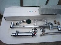 LAVATA Thermostatic Bar Shower control new boxed complete