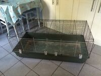 Large indoor rabbit/Guinea pig cage