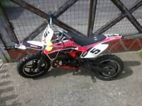 Midi moto mini moto dirt bike 50cc