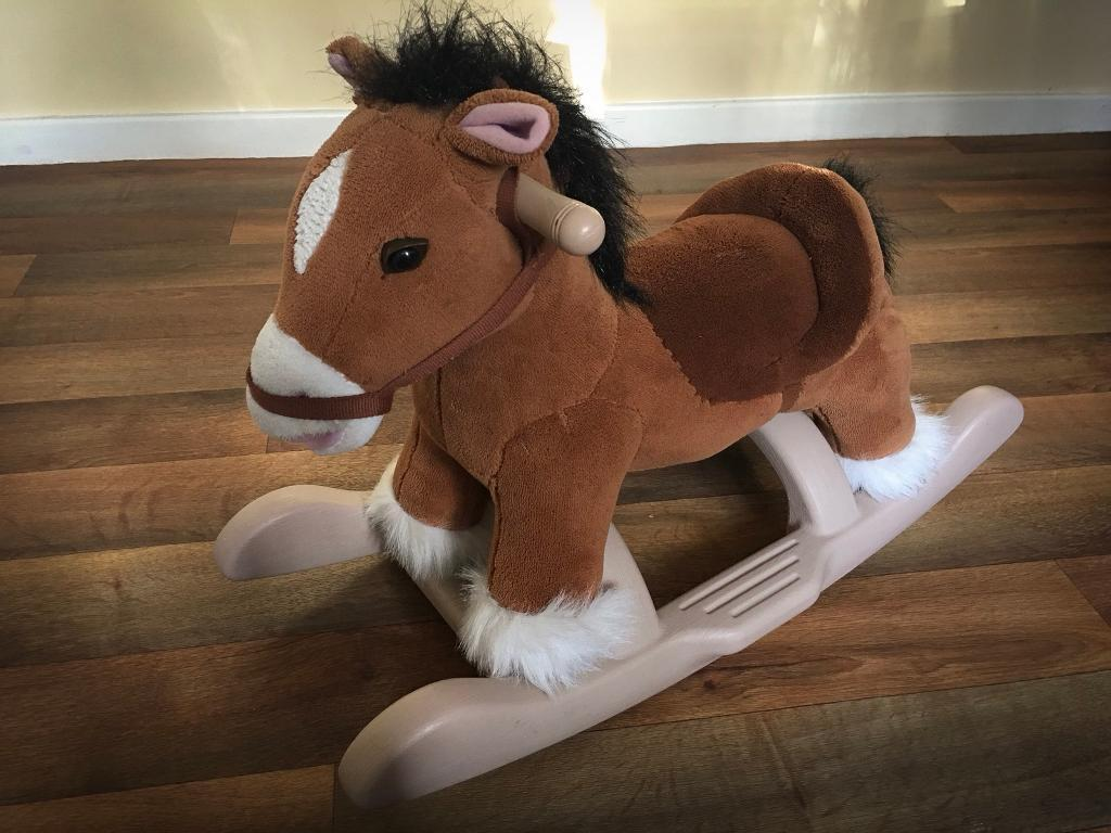 Lovely ride on Rocking Horse