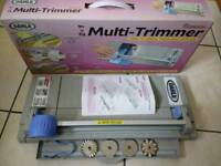 2 in 1 Paper trimmer / guillotine for crafts, card-making or home office