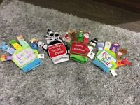 Christmas Santa and various other finger puppet books
